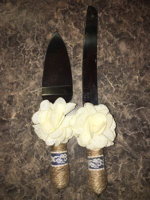 Wedding cake knife/spatula for Sale in Houston, TX