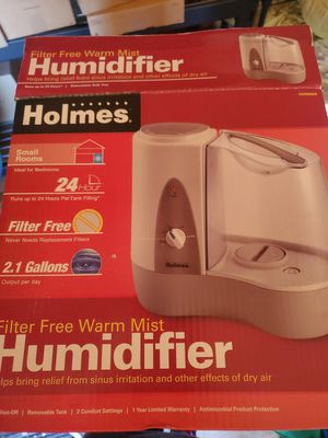 HOLMES HWM6008-NUM Warm Mist Humidifier for Sale in Springfield, OR