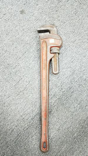 """24"""" rigid pipe wrench for Sale in Hamtramck, MI"""