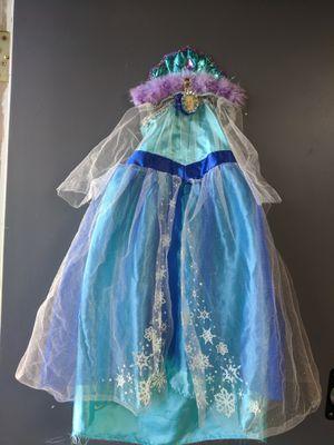 Frozen:s Elsa costume for little children 2-3 for Sale in Lakeway, TX