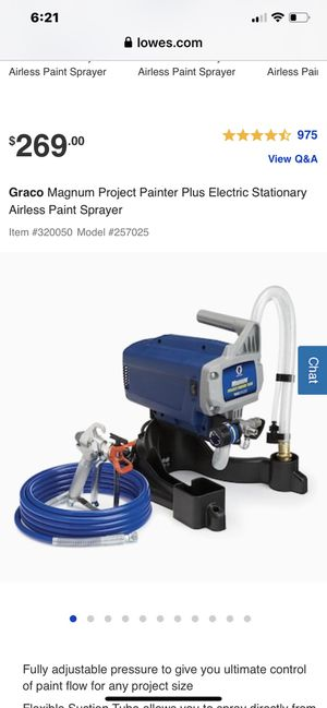 Used paint sprayer for Sale in Charlotte, NC