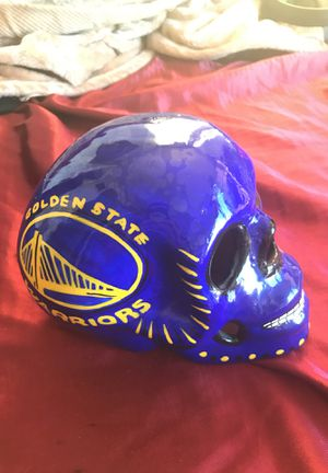Hand Painted Ceramic Skull for Sale in Seattle, WA