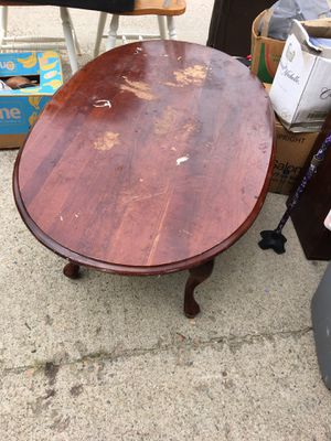 Solid Wood Coffee Table for Sale in Midlothian, VA