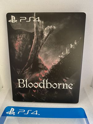 Bloodborne Custom Steelbook Case PS4/Xbox1(NO GAME) for Sale in San Francisco, CA
