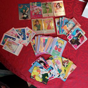 Sailor moon mix card lot for Sale in Fort Worth, TX