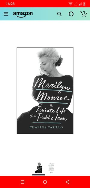 Marilyn monroe book for Sale in Sunnyvale, CA