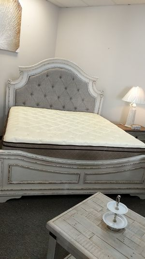 King Size Bed Frame -$595- $40 down take home today!!! for Sale in Virginia Beach, VA