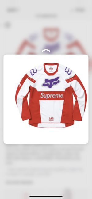 Supreme fox jersey for Sale in Wesley Chapel, FL