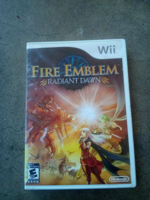 Fire emblem radiant Dawn wii for Sale in GLMN HOT SPGS, CA