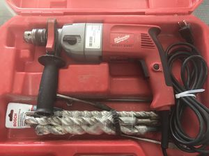 Milwaukee Heavy Duty Hammer Drill for Sale in South Daytona, FL
