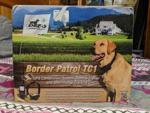 Dog Expedition Systems border patrol TC1 GPS dog collar for Sale in Payson, AZ