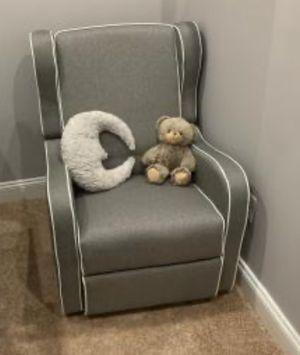 New!! Dark Gray Recliner,Gliding Chair,Nursery,Swivel Gliding Recliner, for Sale in Phoenix, AZ