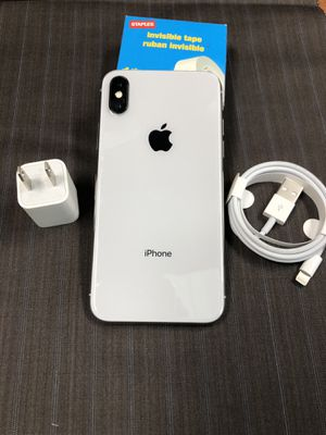 256Gb Silver iPhone X - Factory Unlocked. for Sale in New York, NY