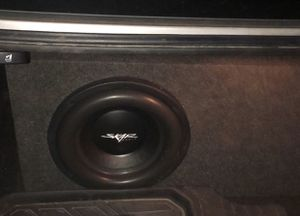 Skar audio 1 12 subwoofer w Amp for Sale in Des Plaines, IL