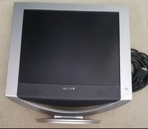 "Sony 17"" TFT color LCD monitor for Sale in Tracy, CA"