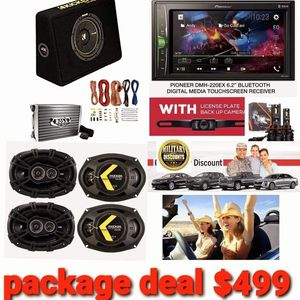Pioneer/Kicker Package Deal for Sale in San Diego, CA
