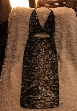 Gold and Black Halter Dress Medium for Sale in Germantown, MD