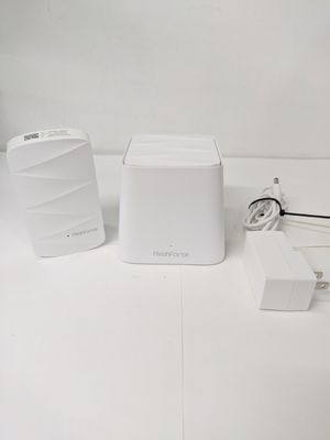 MeshForce Whole Home Mesh WiFi System M3 Suite (1 WiFi Point + 1 WiFi Dot) - Dual Band WiFi System Router Replacement and Wall Plug Extenders for Sale in Los Angeles, CA
