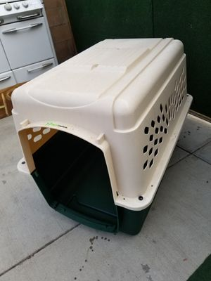 New dog house but it came with out door maybe could order online or used for dog house with his favorite pillow for Sale in Moreno Valley, CA