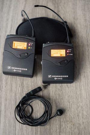 Sennheiser EW 100 G3 Lavalier wireless mic Kit for Sale in Gilbert, AZ