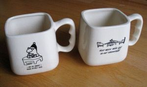 Lot 2 Bernad Creations Yonkers NY Coffee Mugs for Sale in Steilacoom, WA