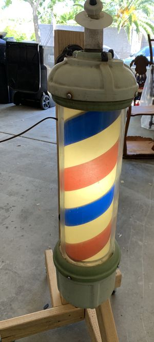 Light Up Barber Poll for Sale in Henderson, NV