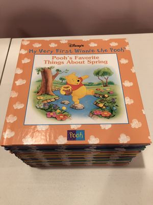 """22 books from Disney's """"My Very First Winnie The Pooh"""" book series for Sale in Feasterville-Trevose, PA"""