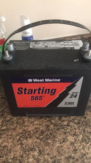 Starting west marine batterie for Sale in Inkster, MI