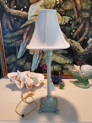 Light green lamp for Sale in Vero Beach, FL