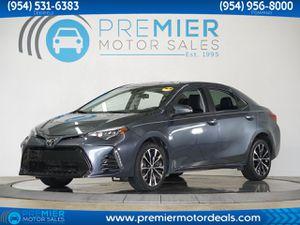 2017 Toyota Corolla for Sale in Miami, FL