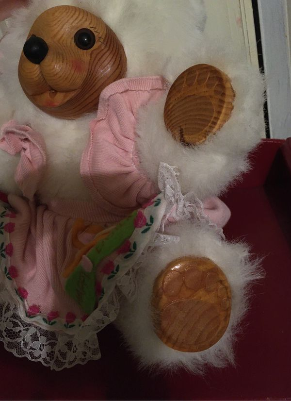 William Tung 1993 Hand Crafted Easter Teddy Bear, 10 1/2 Inch Height, (HC)