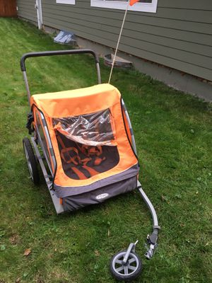 Instep double bike trailer for Sale in Hanover Park, IL