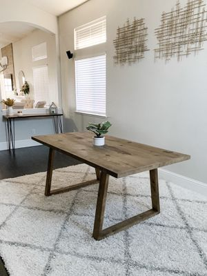 6FT x 3FT Farmhouse Dining Table for Sale in San Jose, CA