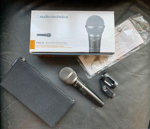 Audio Technica Pro 31 microphone for Sale in Chicago, IL