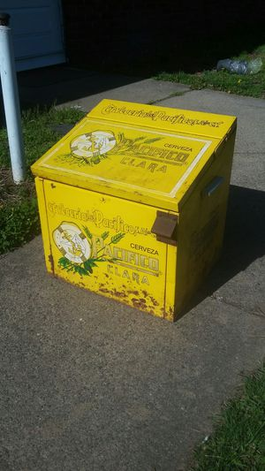 Used, Vintage CERVEZA PACIFICO CLARA BEER COOLER for Sale for sale  Levittown, PA