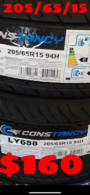 205 65 15¡¡¡¡ ALL 4 NEW SET OF TIRES !!!! for Sale in Phoenix, AZ