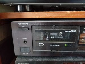 onkyo ta-r240 cassette deck for Sale in Daly City, CA