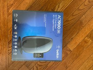 Belkin AC1900 WiFi DB AC +1.3Gbps Router for Sale in Gainesville, VA
