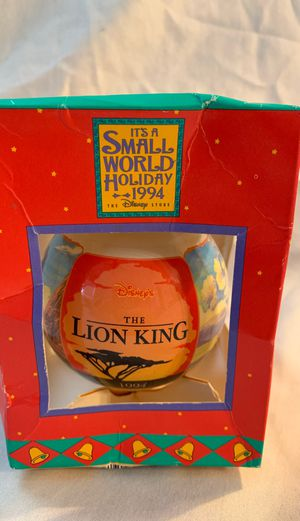 1994 Lion King Disney Ornament ~ Christmas Decoration for Sale in Tampa, FL