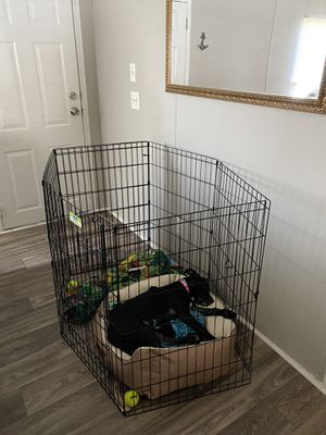 Dog play pin crate for Sale in Douglasville, GA
