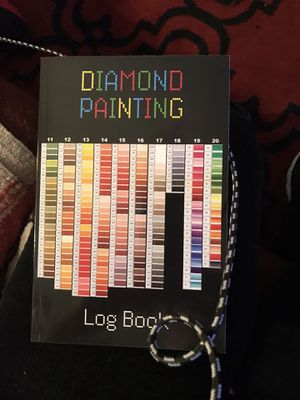Diamond painting log book for Sale in Arvada, CO