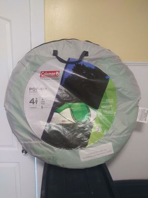 Tent Coleman 4 Person Pop-Up 10 Second Set Up Never Used Brand New for Sale in Cleveland, OH