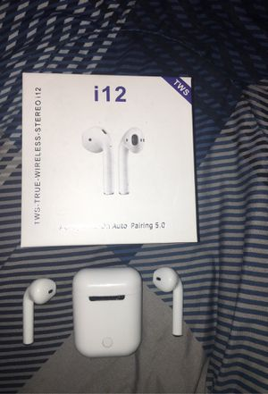 "i12 ""AirPod"" Ear Buds for Sale in Binghamton, NY"