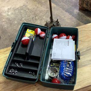 Green Tackle Box for Sale in San Antonio, TX