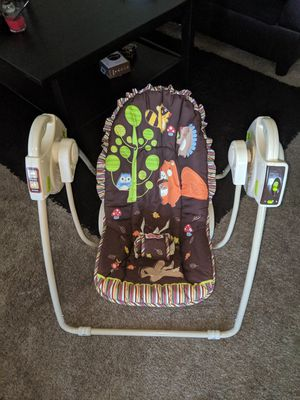 Fisher Price baby travel swing for Sale in Edmonds, WA