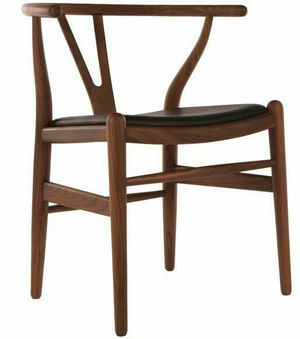 Hans Wagner LIKE Wood Elbow Dining Chair New. NO CUSHION SEAT for Sale in El Monte, CA