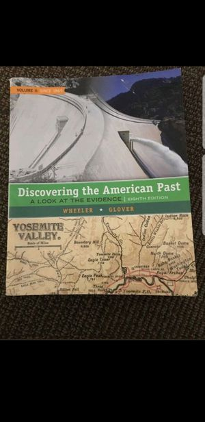 Discovering the American Past by Wheeler and Glover. for Sale in Old Mill Creek, IL