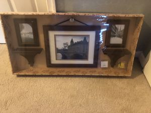 Wall Display Gallery Set Frames & Shelves for Sale in Chesapeake, VA