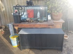BIG FISH TANK $200 OBO for Sale in Vallejo, CA