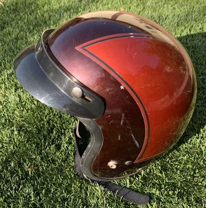 Vintage red 1975 Honda custom Hondaline helmet size medium for Sale in Universal City, CA